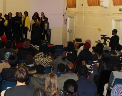 Hackney Community Gospel choir held a fundraising concert on 16th March