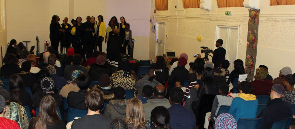 Hackney Community Gospel choir held a fundraising concert on 16th March