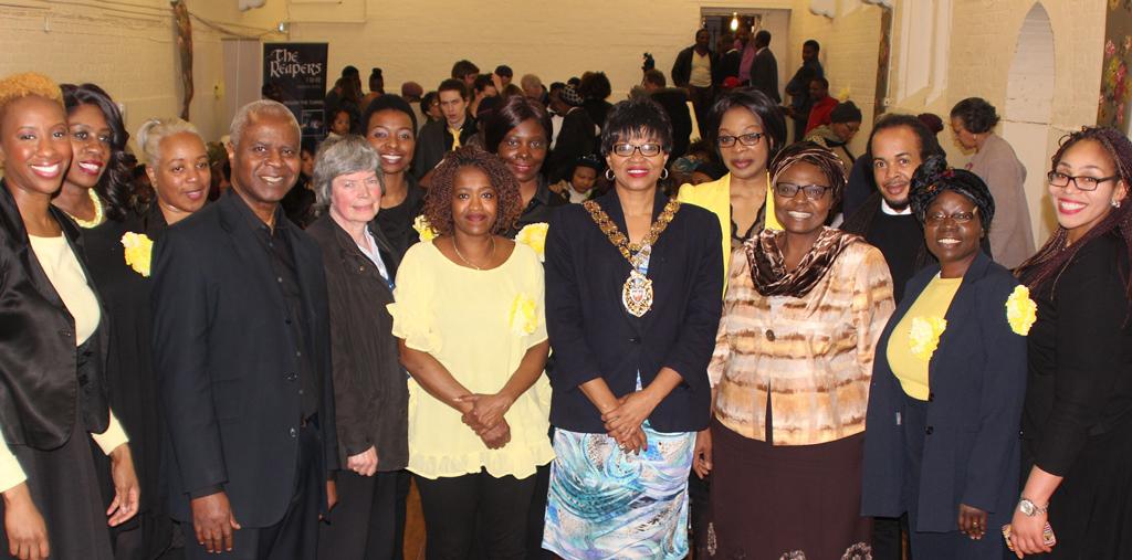 Hackney Speaker meets the Hackney Community Gospel Choir